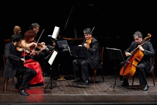 Lorenzo Di Bella e il Quartetto Dorico - 17 Dicembre 2009